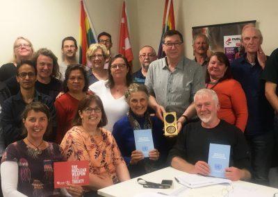 CPSU Victoria Council, October 2018