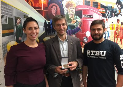 Luba Grigorovitch, Tilman Ruff and Amedeo d'Aprano - Rail, Tram and Bus Union Victoria